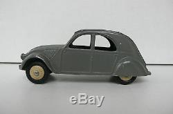Dinky Toys Citroen 2 CV Ref 24t 1952 Très Bon État 1 Feu Arrière