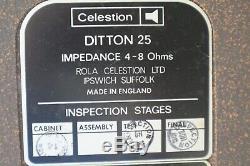 Enceintes Celestion Ditton 25 Très bon état non reconditionnées