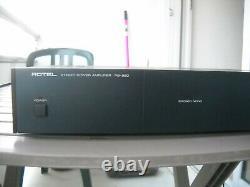 Ensemble amplificateur Rotel RB 850 préamplificateur RC 850 très bon état