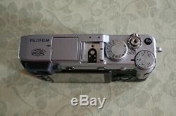 Fujifilm X-E1 argent très bon état