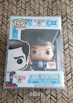 Funko Pop Ace Ventura 32 Vaulted de 2013! Très bon état avec boite de protection