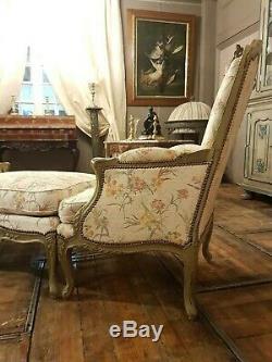 Grande Duchesse Brisée En Trois Parties De Style Louis XV, en très bon état