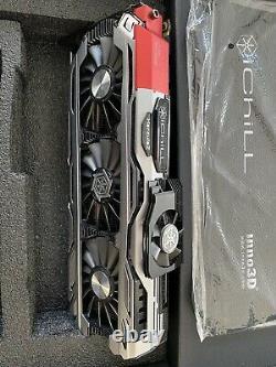 Gtx GeForce 1080 Ichill 8go Gddr5x VR Ready Très Bon État