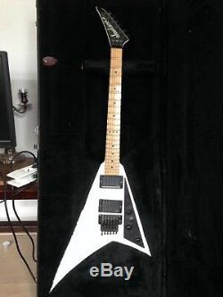 Guitare electrique Jackson RR1 USA 1988 Blanche (Très bon état)