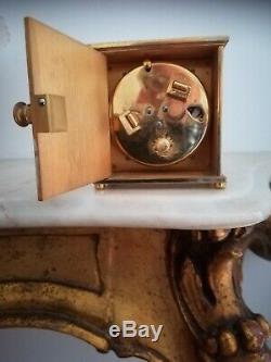 HERMES/ JAEGER LECOULTRE pendulette modèle Palais Royal en très bon état