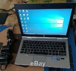 HP ELITEBOOK 2570p i7-3520M 4Go 320Go HDD 12.5 EN TRÈS BON ETAT