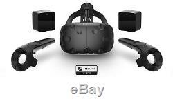 HTC Vive Casque de réalité virtuelle PACK COMPLET, très bon état