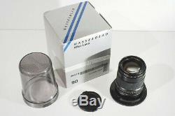 Hasselblad 90 mm f4 pour Hasselblad XPan / Fuji TX-1 TX-2. Complet très bon état