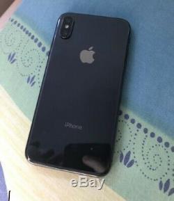 IPhone X 64 go Noir Débloquer Très Bon État