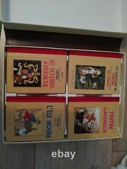 Intégrale Tintin 13 Volumes Rombaldi, Très Bon Etat