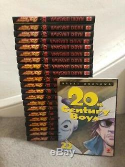 Intégrale manga 20th Century Boys N° 1 à 22 en très bon état