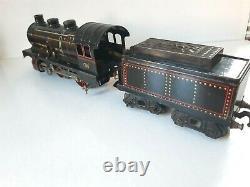 JEP O réf. 5468. LT locomotive à vapeur 120 litho en très bon état