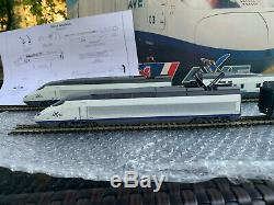 JOUEF 740500 ho Tgv ave version modeliste en coffret tres bon etat 1/87