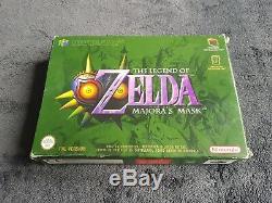 Jeu Nintendo 64 the Legend Of Zelda Majora's Mask EUR très bon état complet N64