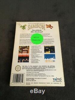 Jeu Nintendo NES LITTLE SAMSON FRG Très Bon état, Complet