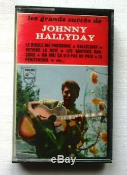 Johnny Hallyday Rarissime Cassette Audio Tres Bon Etat/ Biem