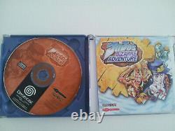 Jojo's Bizarre Adventure Sur Dreamcast Complet PAL FR Très Bon Etat