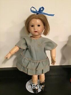 Jolie bleuette unis France 251 27 cm 1928-1933 jolie tenue GL très bon état