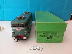 Jouet Ancien Hornby 0 Locomotive Bb 9201 Fonctionnelle Tres Bon Etat En Boite