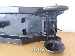 Jouet Citroen Tole Torpedo B2 Mecanique Complete Tres Bon Etat Jep Jrd Cr Cij