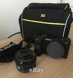 Kit Sony Alpha 6500 a6500 + 16-50mm f/3,5-5,6 OSS Noir Très Bon Etat