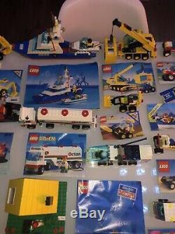 LEGO Vintage + Notice 26 Sets Legoland System Electric en très bonne état Propre