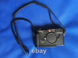 Leica M6 boitier noir en très bon état
