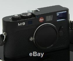 Leica M9 Noir Trés bon état moins de 1200 déclenchement boitier nu