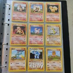 Lot Cartes Pokémon Set De Base Wizards 1995 Très Bon état