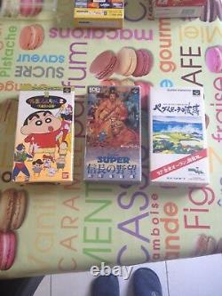Lot Console Super Famicom + 24 Jeux Complet En Tres Bon Etat Rare