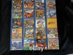 Lot de 85 Jeux de Console Dreamcast en très bon état et tous complets