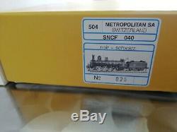 METROPOLITAN 040 A 132 SNCF, Réf 504, Très Bon état dans sa Boîte d'origine