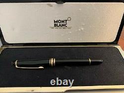 MONT BLANC stylo roller Meisterstuck / MONT BLANC rollerball (très bon état)