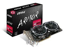 MSI Radeon rx 580 ARMOR 8G OC carte graphique overclocké, très bon état