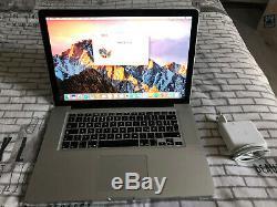 MacBook Pro 15 pouces I5 très bonne état