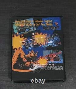 Metal Slug 1 Neo Geo Aes Snk Us Version Convert Tres Bon Etat Mvs 2 3 Softbox