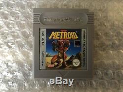 Metroid II 2 Return Of Samus / Game Boy / Complet Tres Bon Etat Version FR FAH