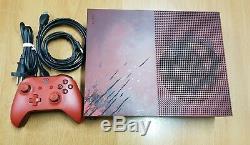 Microsoft Xbox One S 2To Gears of War 4 édition limitée en très bon état
