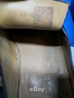 Mocassins en cuir gris-noir 9=43 Berluti (Andy) portées mais en très bon état