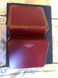 Montre Cartier Pasha Tres Bon Etat Toute En Or Et Saphir Avec Papier