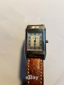 Montre JAEGER LECOULTRE REVERSO FEMME 260 8 86 Vintage mecanique très bon état