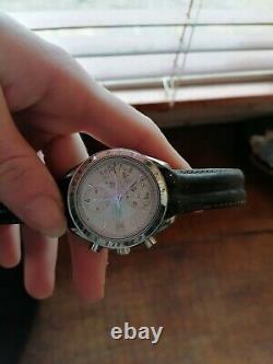 Montre OMEGA SPEEDMASTER année 1998 très bonne état chrono tachymètre ronde