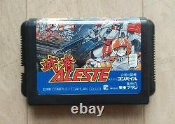 Musha Aleste Sega Megadrive Mega Drive NTSC-J JAP JAPAN Très Bon Etat