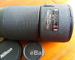 NIKON ED Téléobjectif AF NIKKOR 80-200mm 12.8 D Très bon état