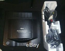 Neo Geo CD Console, 2 manettes en très bon état