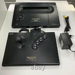 Neo Geo Snk Aes + Stick + Cbles / Très Bon État
