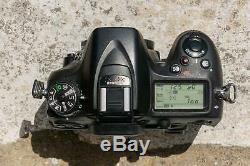 Nikon D7100 Reflex APSC 24mp 38566 shots Vidéo 1080p Très bon état