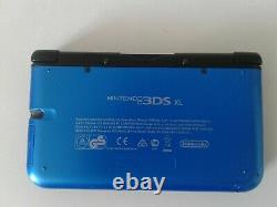 Nintendo 3DS XL Console Portable Bleu tres bonne état car peut utiliser