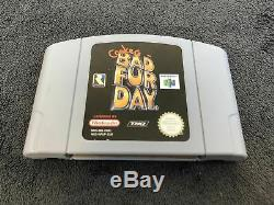 Nintendo 64 Conker's Bad Fur Day EUR Très Bon état