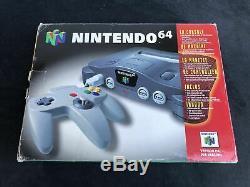 Nintendo 64 Console NUS-001 (FRA) FAH Très Bon état